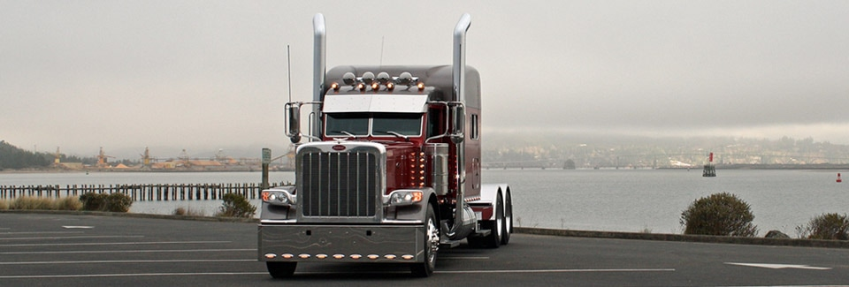 Custom Built Peterbilt Truck